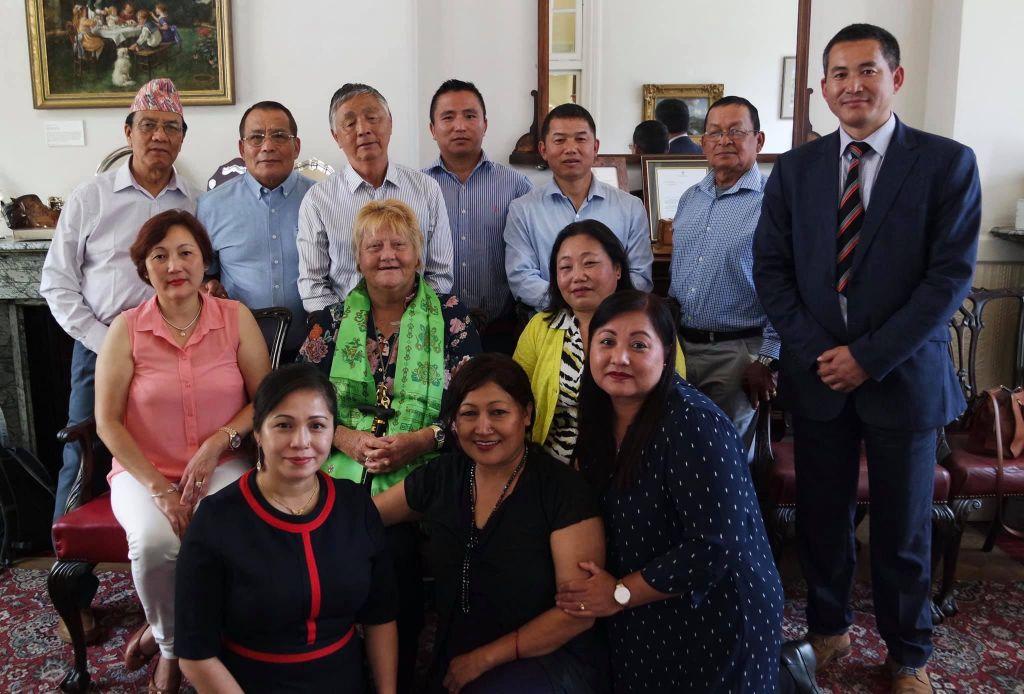 Maidstone Mayor plays host to Gurkha's   image