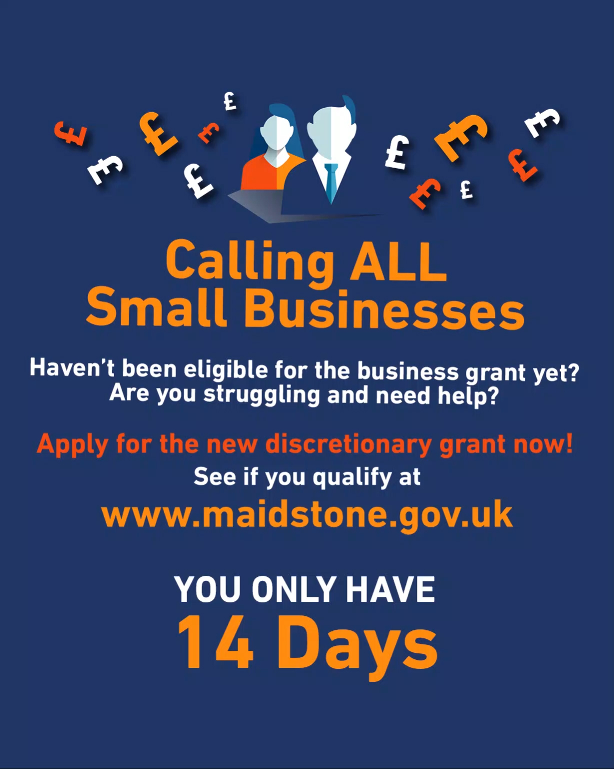 Don't delay – Just 14 days to apply for business grant   image
