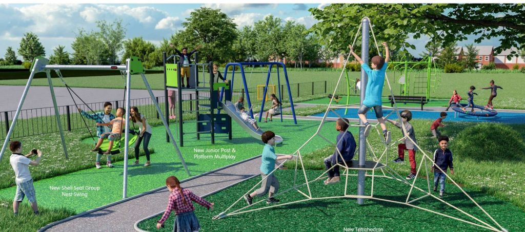 New larger play area in Parkwood on its way image