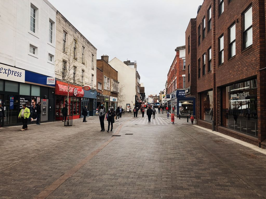 Increased footfall as shoppers return to  Maidstone with confidence  image