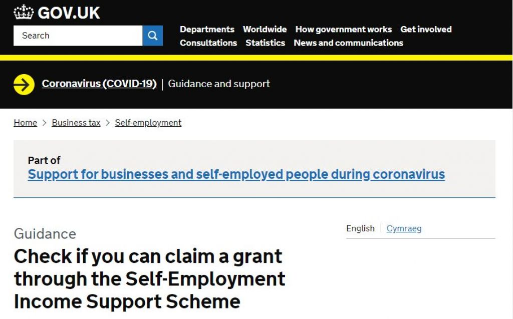 Self-employed encouraged to apply for Income Support Scheme
