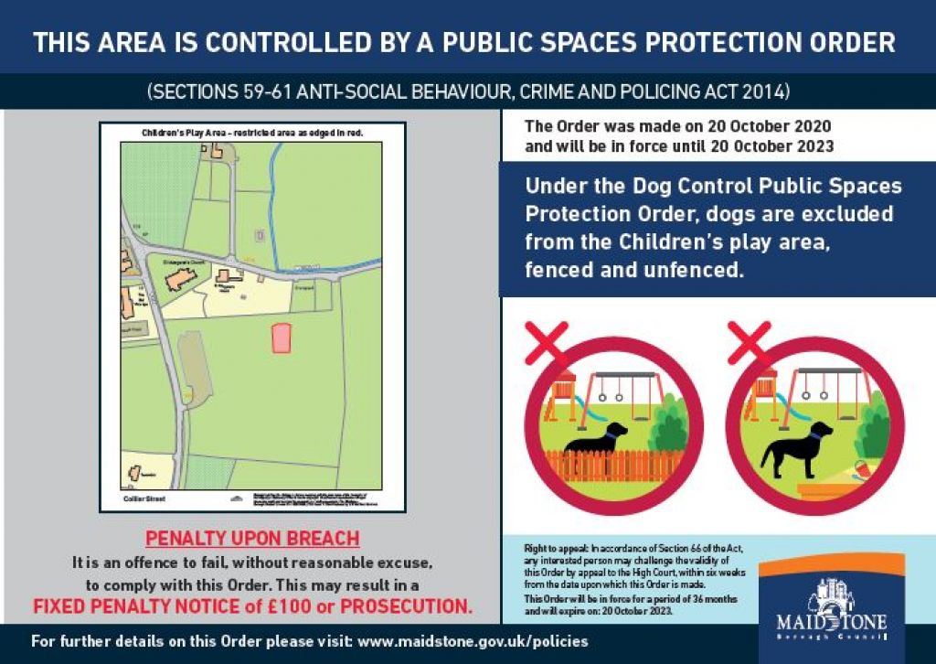 New dog control measures image