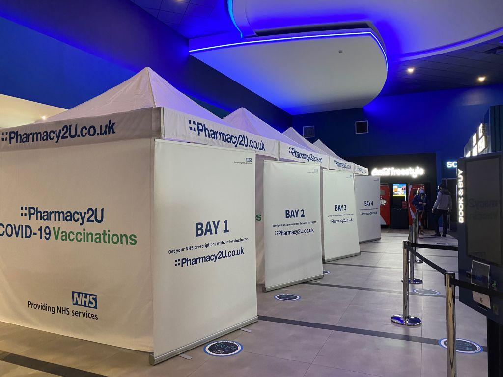 Lockmeadow's ODEON Luxe transforms into vaccination centre