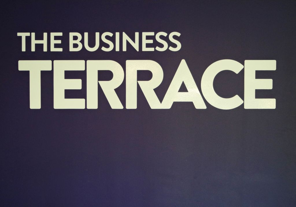 MBC's Business Terrace celebrates workplace wellbeing award