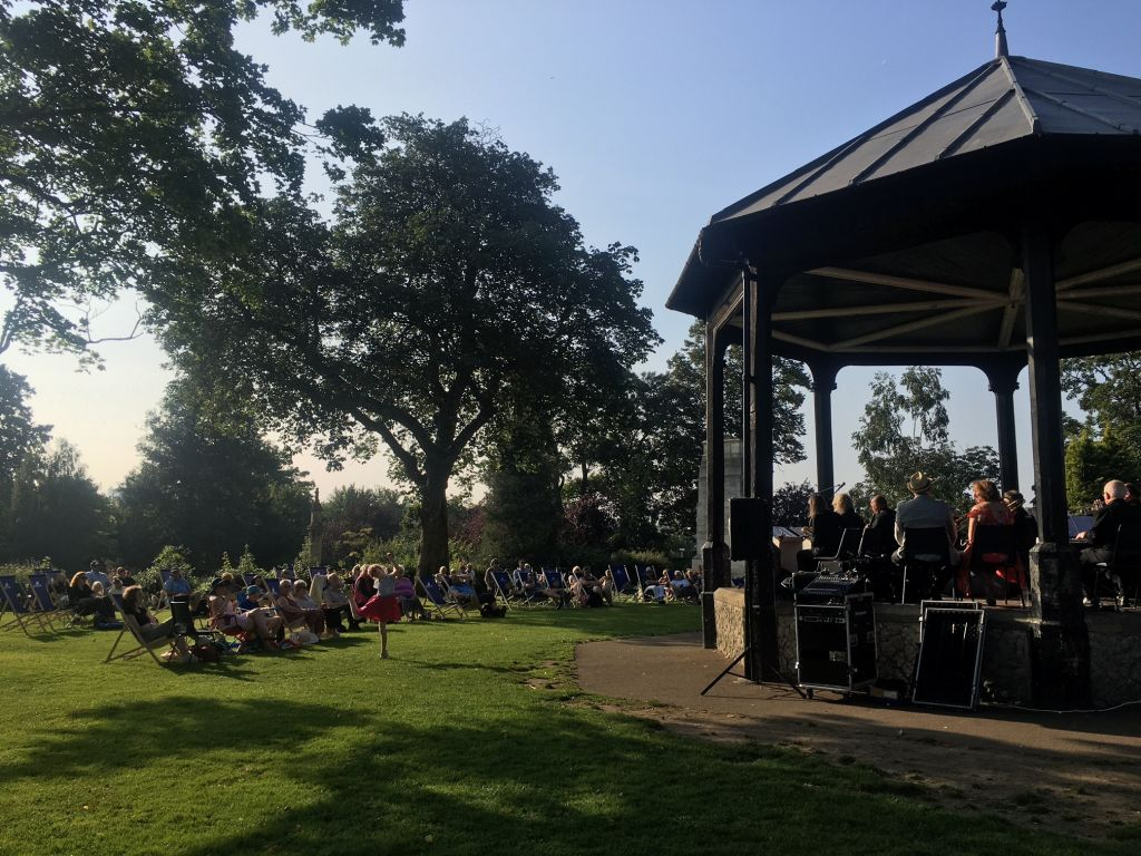 First Brenchley Garden concert real success image