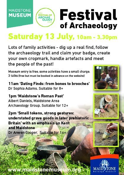 Dig up a real find at the Festival of Archaeology