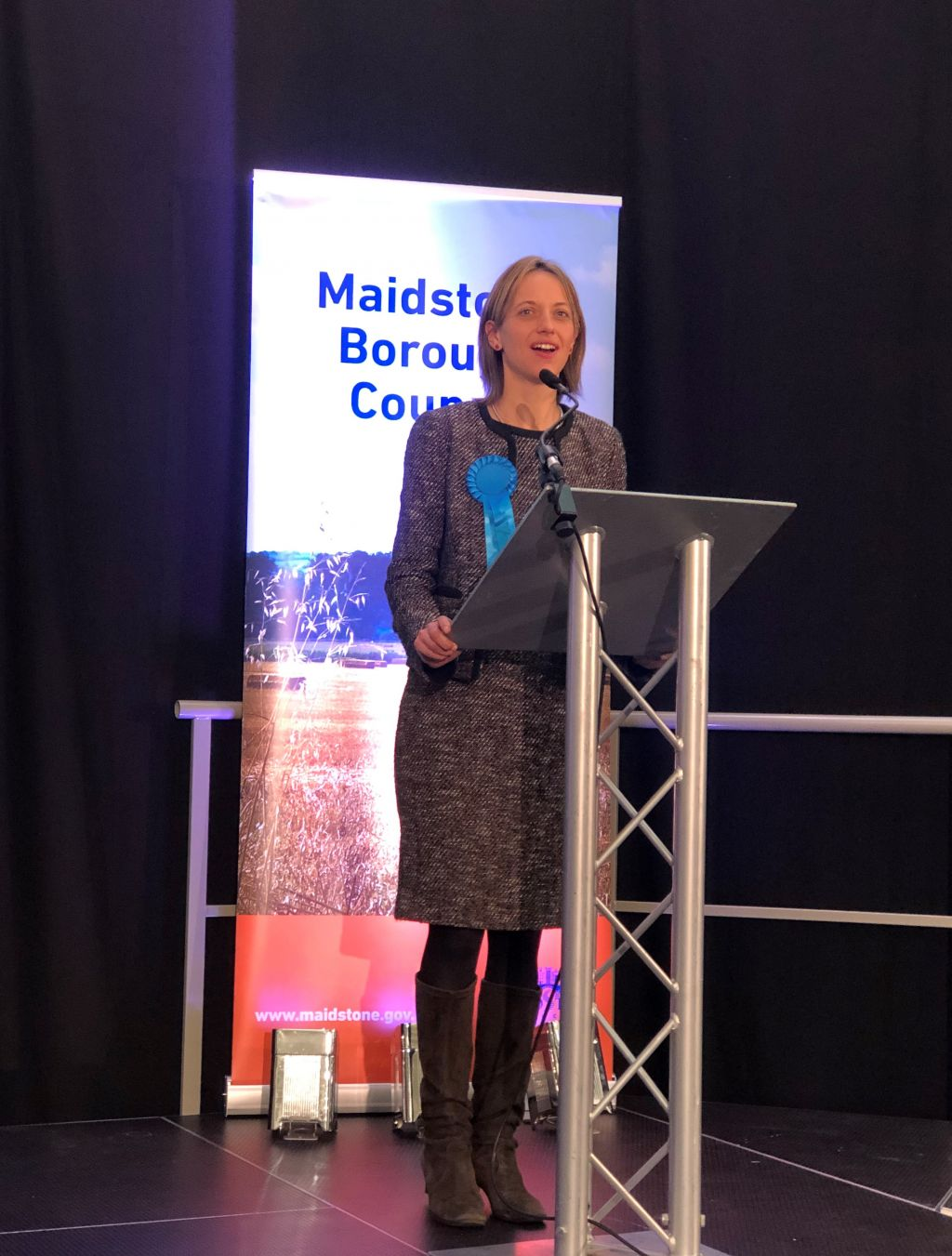 Elected MP for Faversham and Mid Kent announced