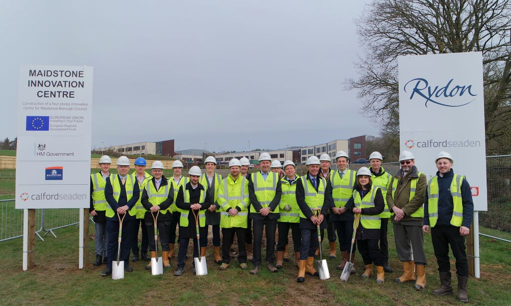 Ground-breaking for Maidstone Innovation Centre  image