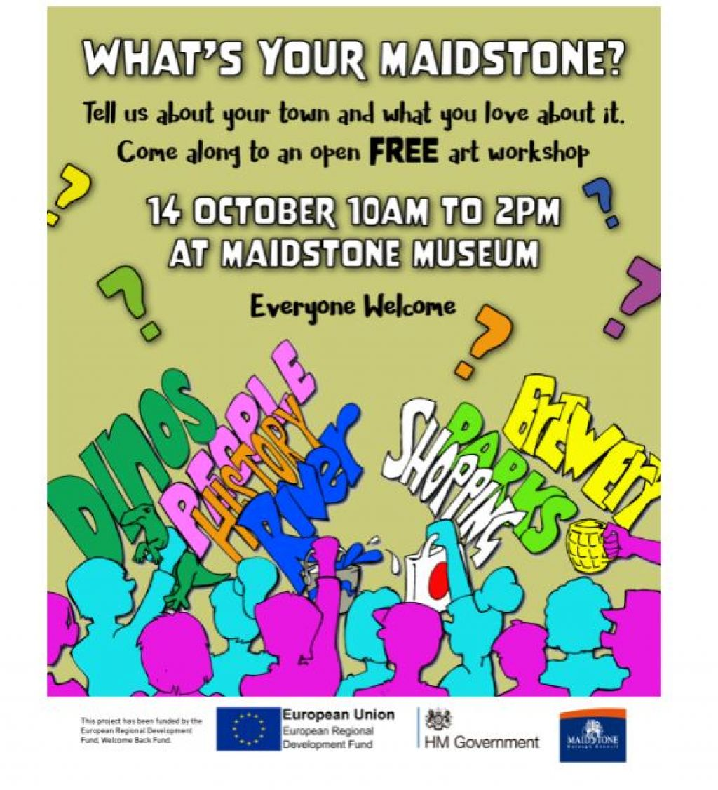 Tell us what you love about Maidstone  image